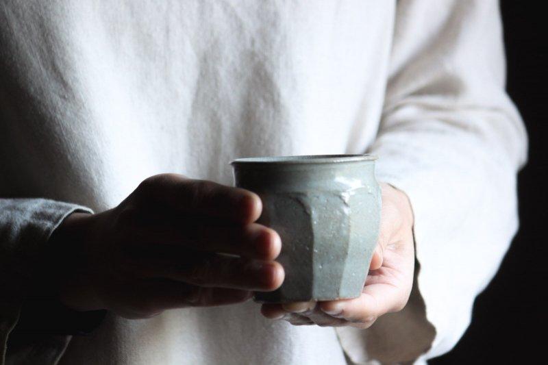 成井窯 面取りカップ 01