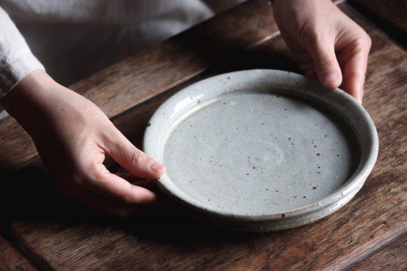 成井窯 平皿(6寸程度) 01