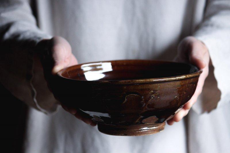 成井窯 面取り鉢 09