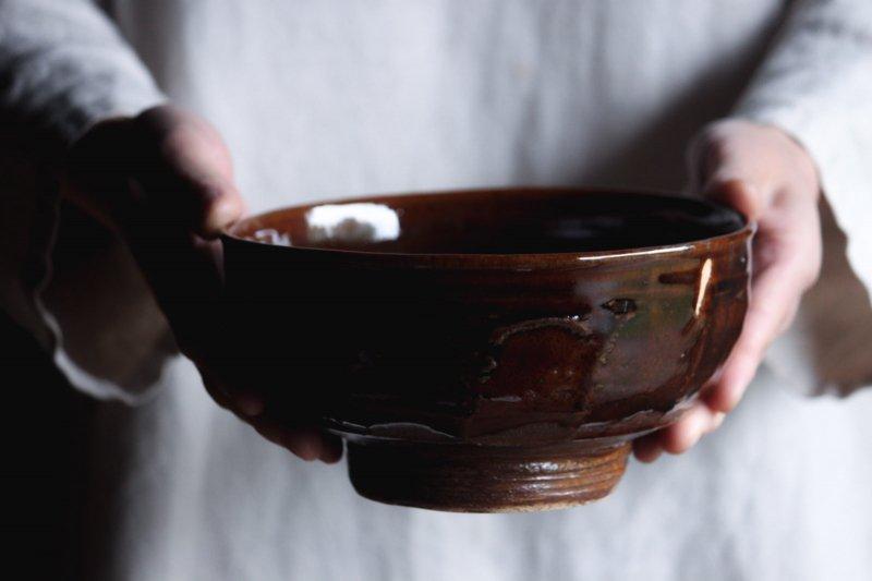 成井窯 面取り鉢 10