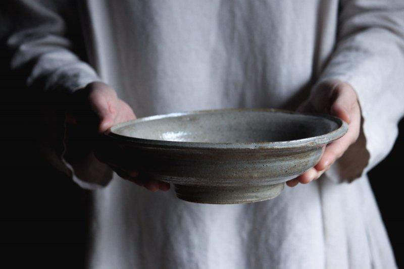 成井窯 縁付浅鉢 03