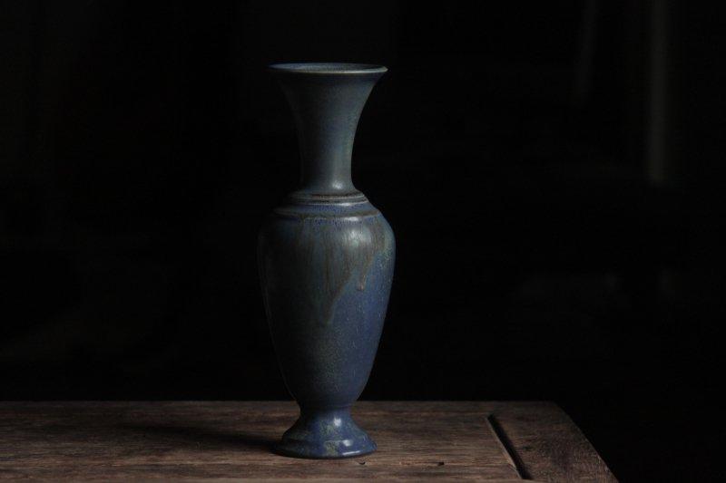 生形由香 青釉瓶
