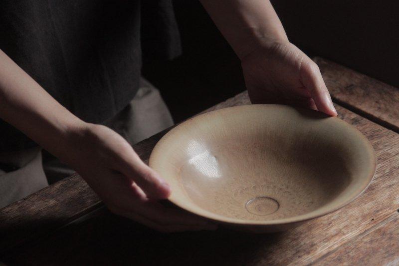 生形由香 印刻紋朝顔鉢-02
