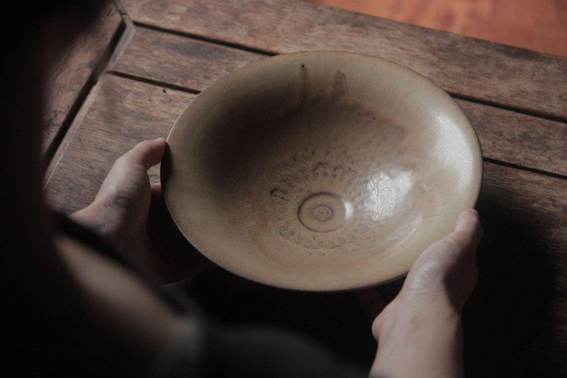 生形由香 印刻紋朝顔鉢-03