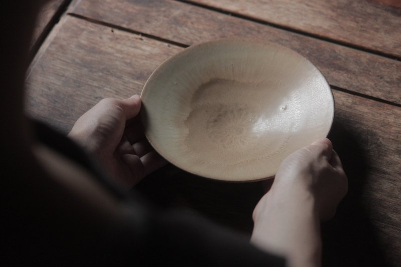 生形由香 印刻紋鉢 黄-06