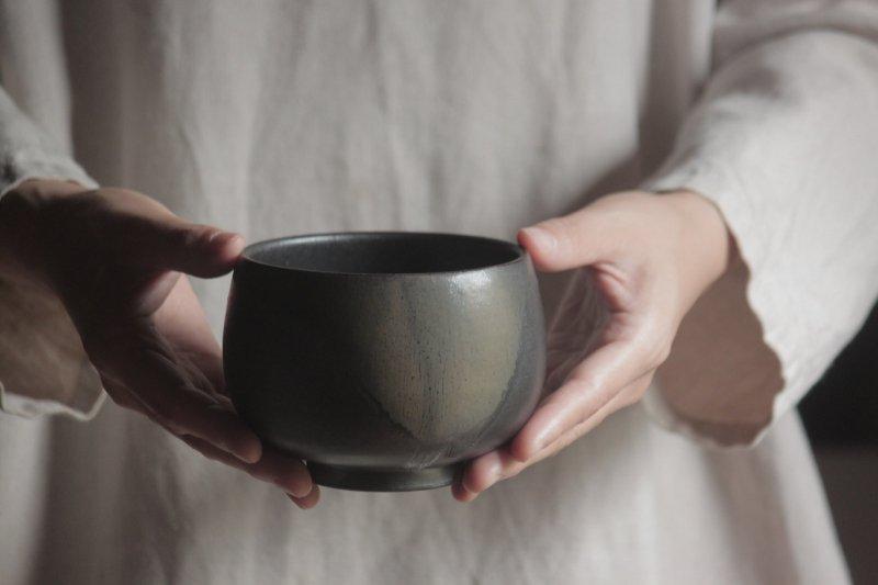 生形由香 色釉碗-01