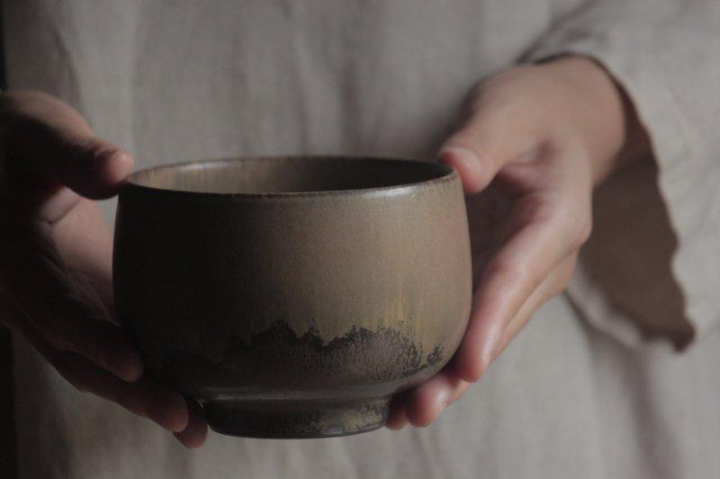 生形由香 色釉碗-02
