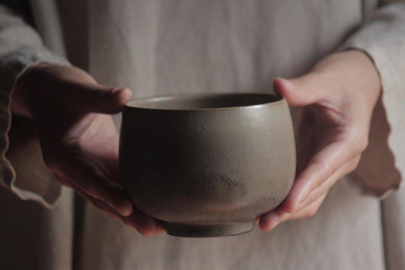 生形由香 色釉碗-03