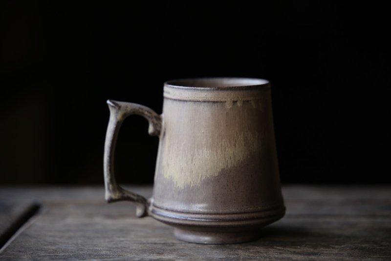 生形由香 マグカップA-茶