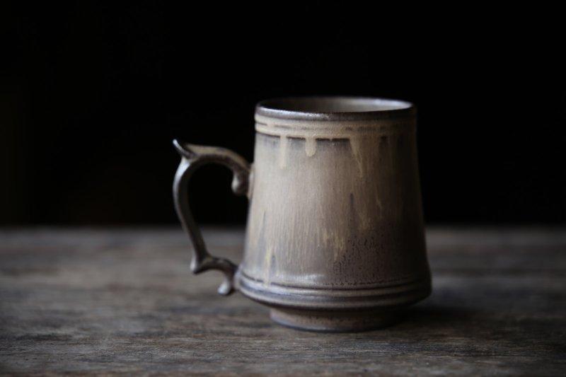 生形由香 マグカップB-茶
