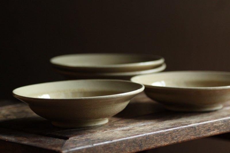 田谷直子 六寸スープ皿 きなり