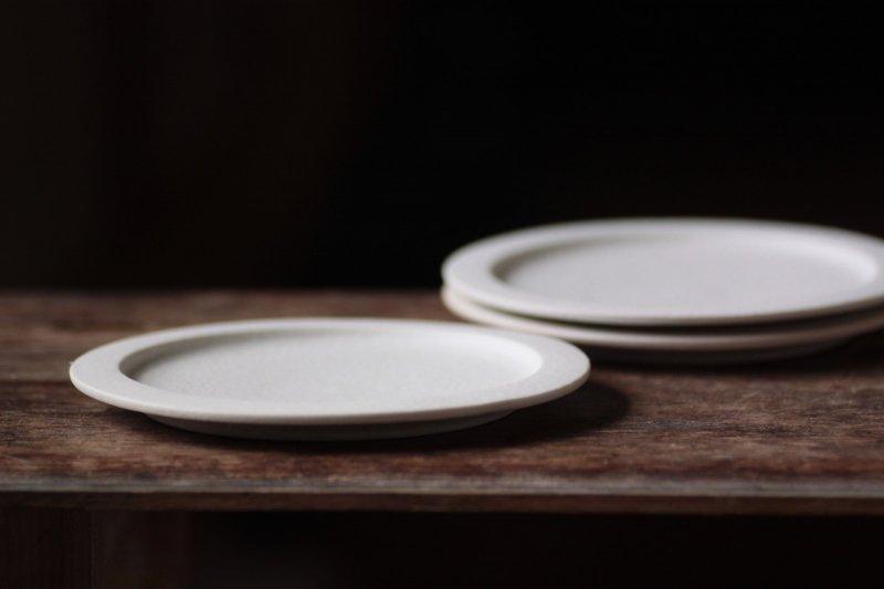 桑原典子 5寸リム平皿