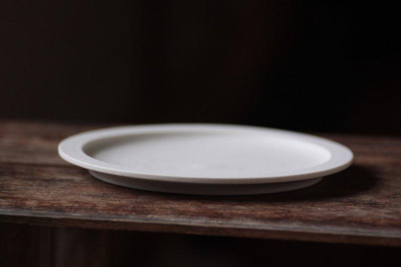 桑原典子 6寸リム平皿
