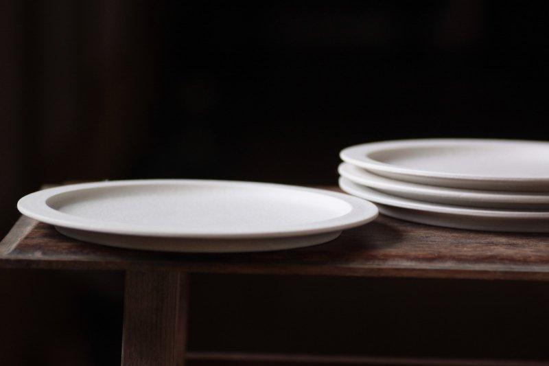 桑原典子 7寸リム平皿