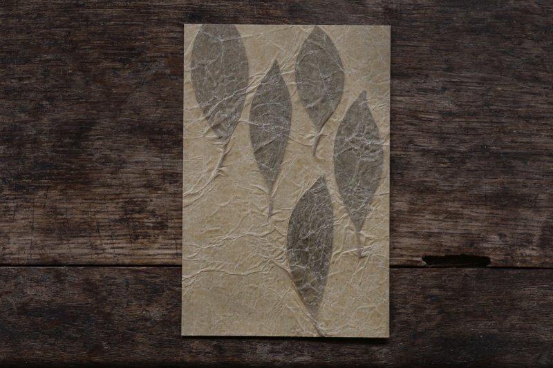 楓オリジナル 押葉書-28