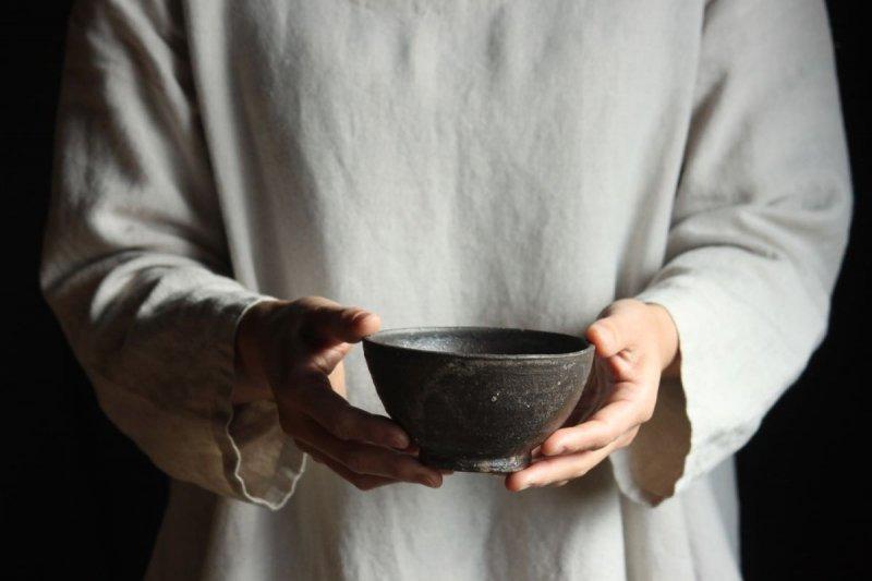 掛江祐造 焼締飯碗