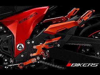 z800 rear set バックステップ kkk product カスタムバイク