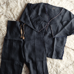 Linen kaftan set up 02