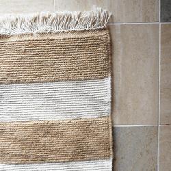 Cotton linen mat