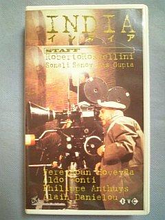 インディア【字幕版】[VHS] / ロベルト・ロッセリーニ 監督