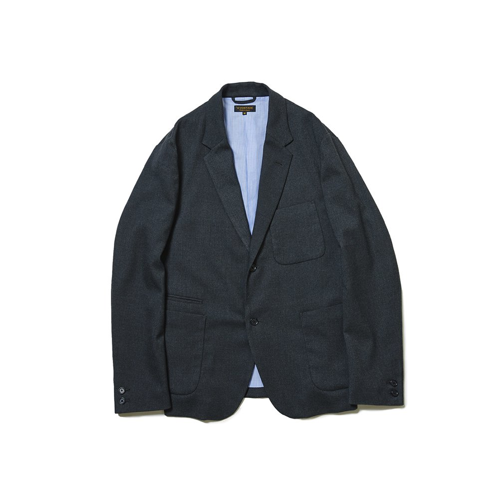 Lounge Jacket -T/R Stretch Serge-