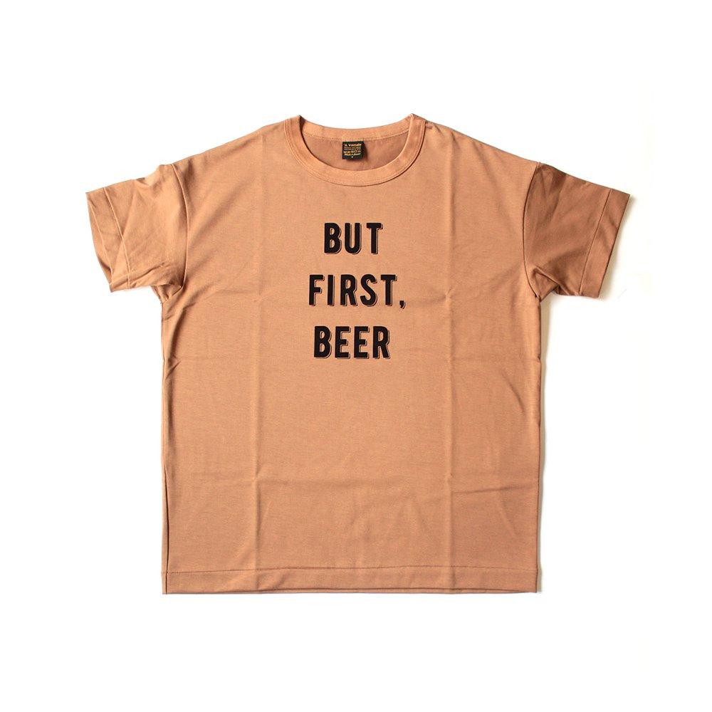 6.5oz Silket Print T-Shirts (BUT FIRST, BEER)