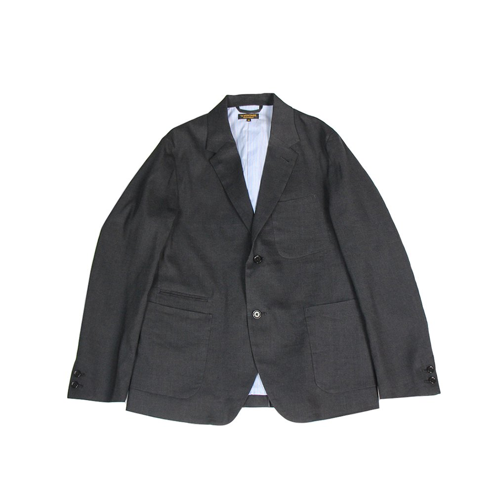 Lounge Jacket -Linen T/R Stretch-