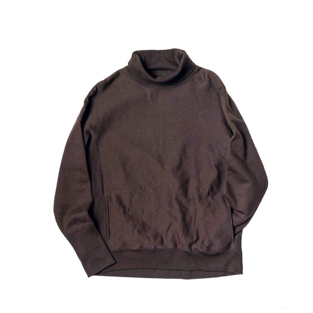 Turtle Neck Sweat -26/2 BD Yarn Top Fleece-