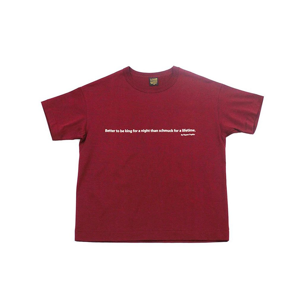 6.5oz Silket Print T-Shirts(Better to be king)