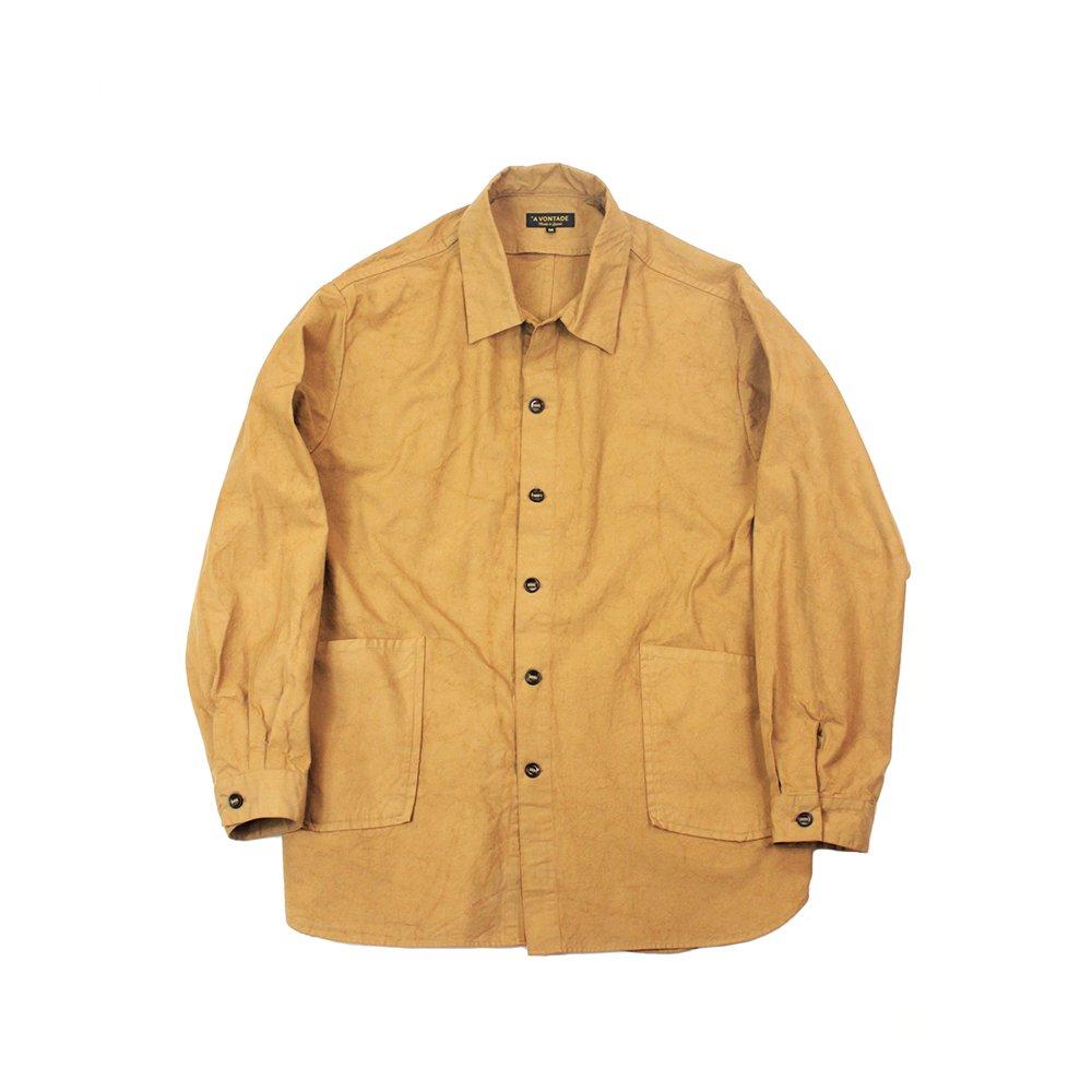 Gardener Shirt Jacket -40/2 Hard Twist Yarn Oxford-