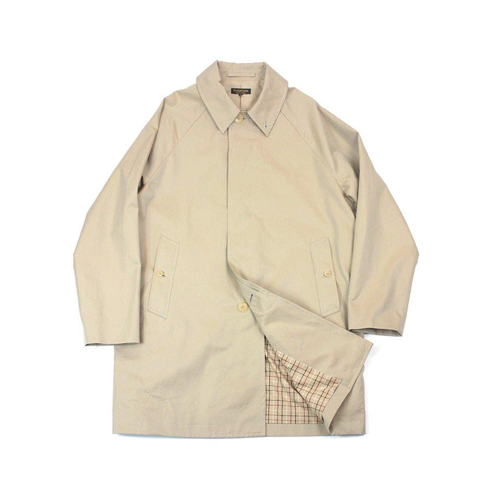 Lax Balmacaan Coat -Short Length-