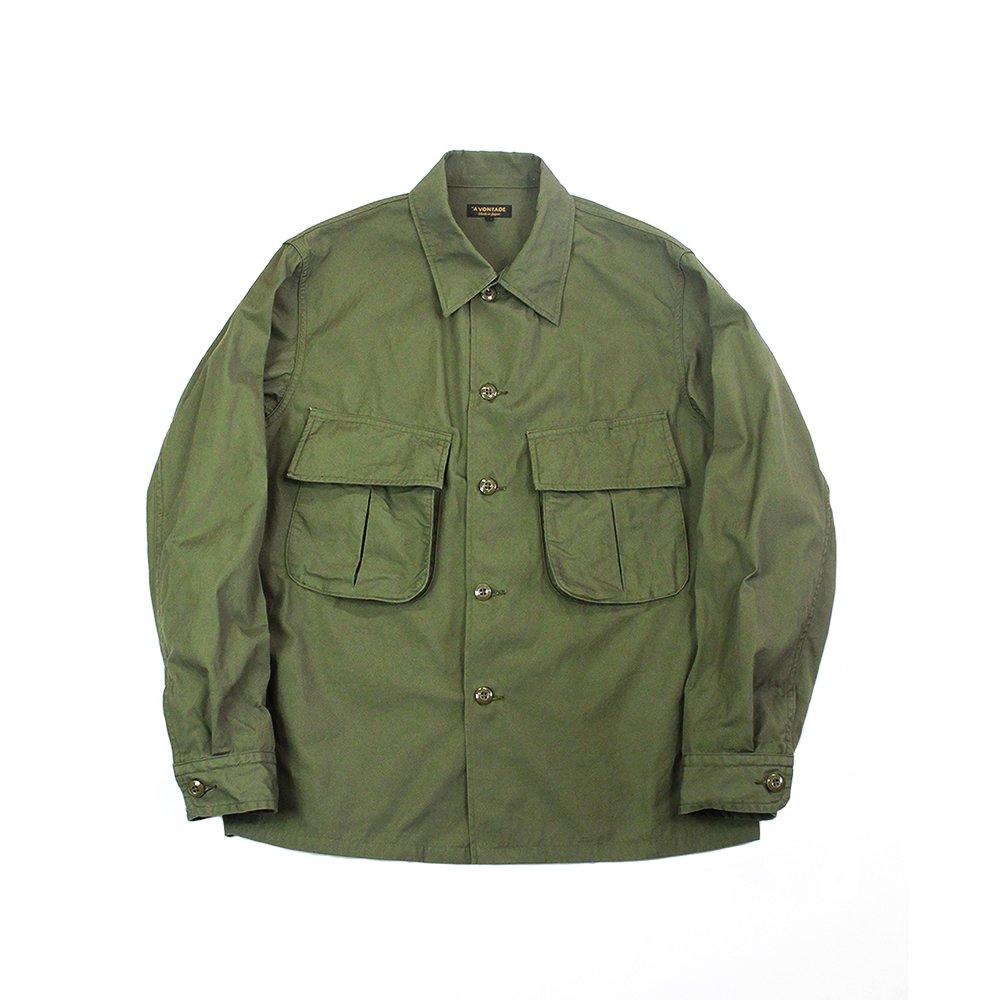 Combat Tropical Short Jacket -Selvedge Poplin-