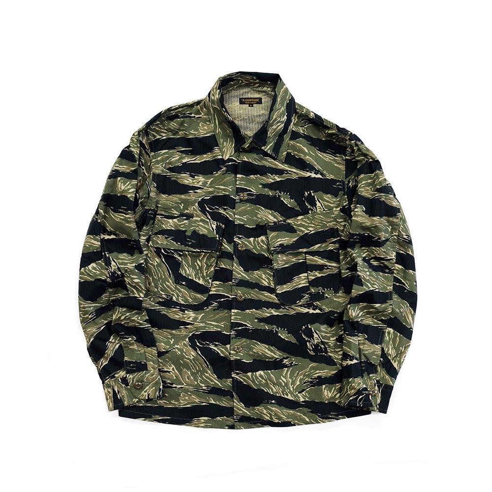 Combat Tropical Short Jacket -Army Ripstop-