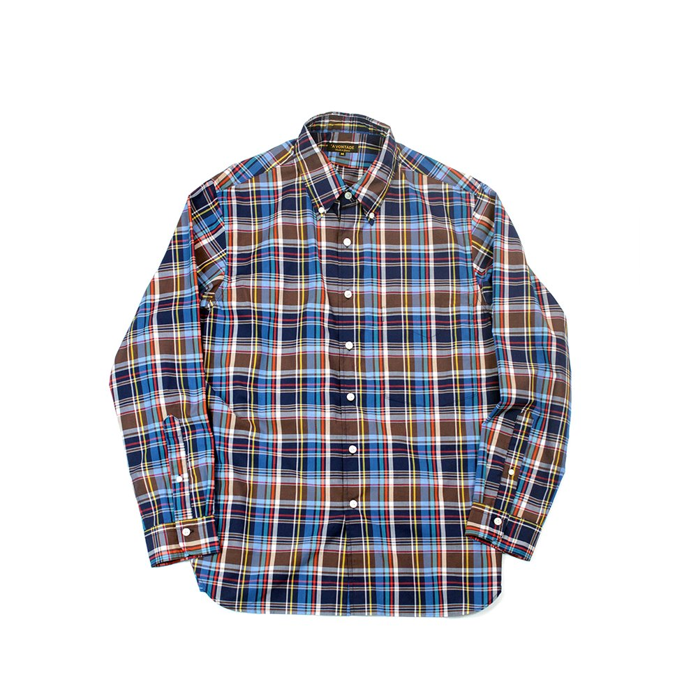 Weekend B.D Shirts -Roan Madras Check-