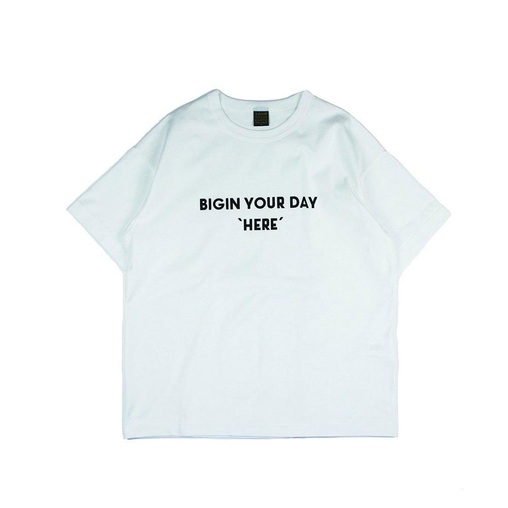 6.5oz Silket Print T-Shirts(BEGIN)