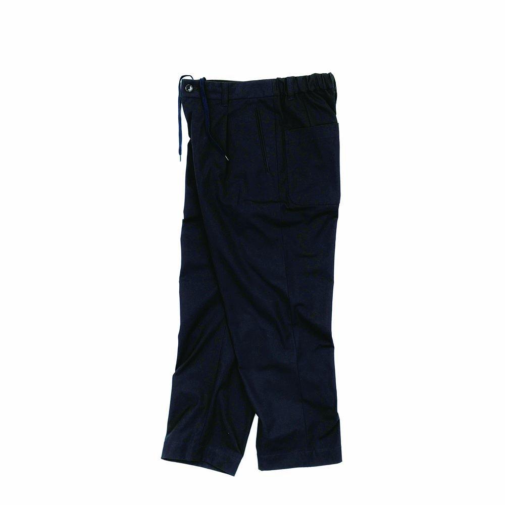 Lax Easy Trousers -20/2 Hard Twist Yarn Oxford-