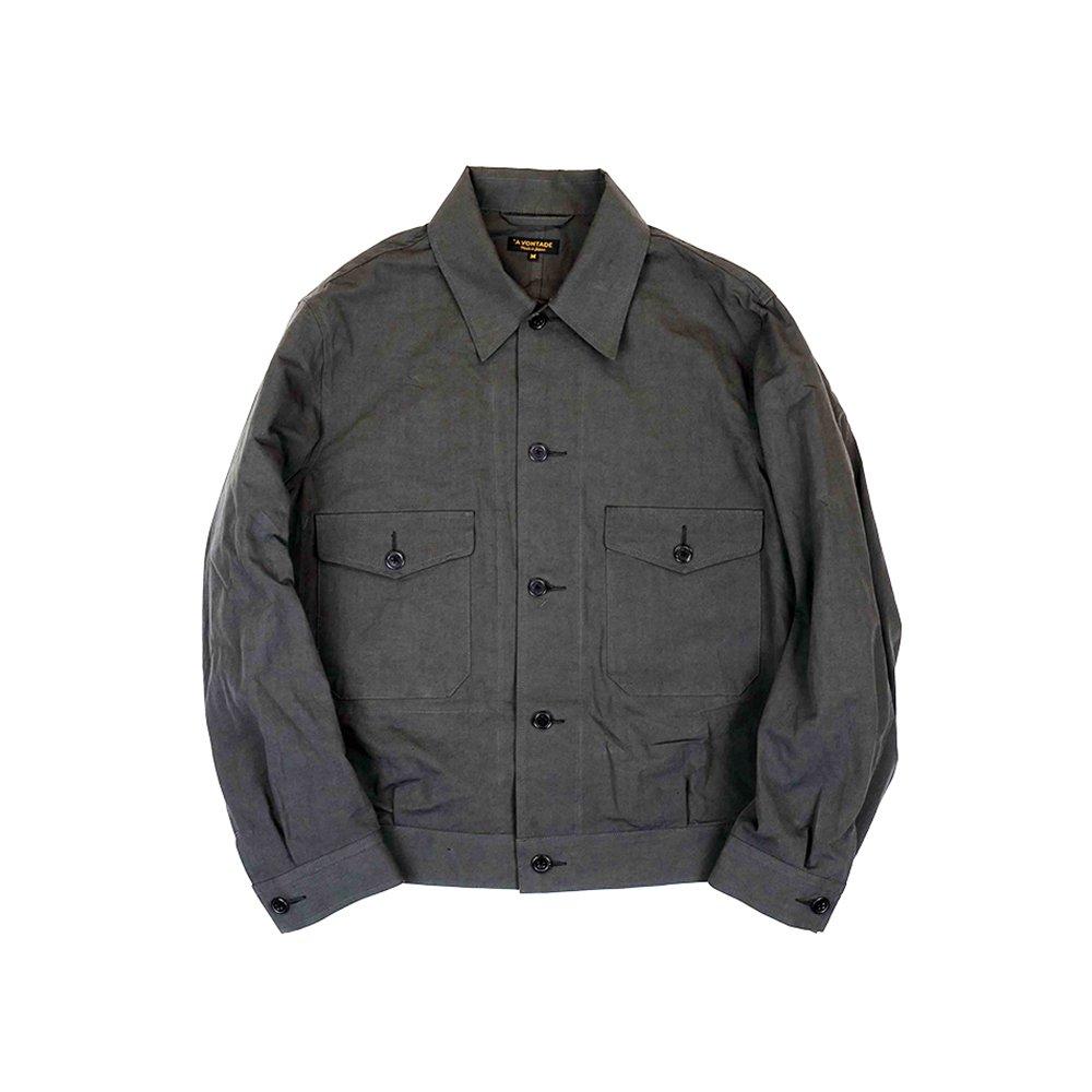 British Short Jacket -Cotton/Linen Weather-