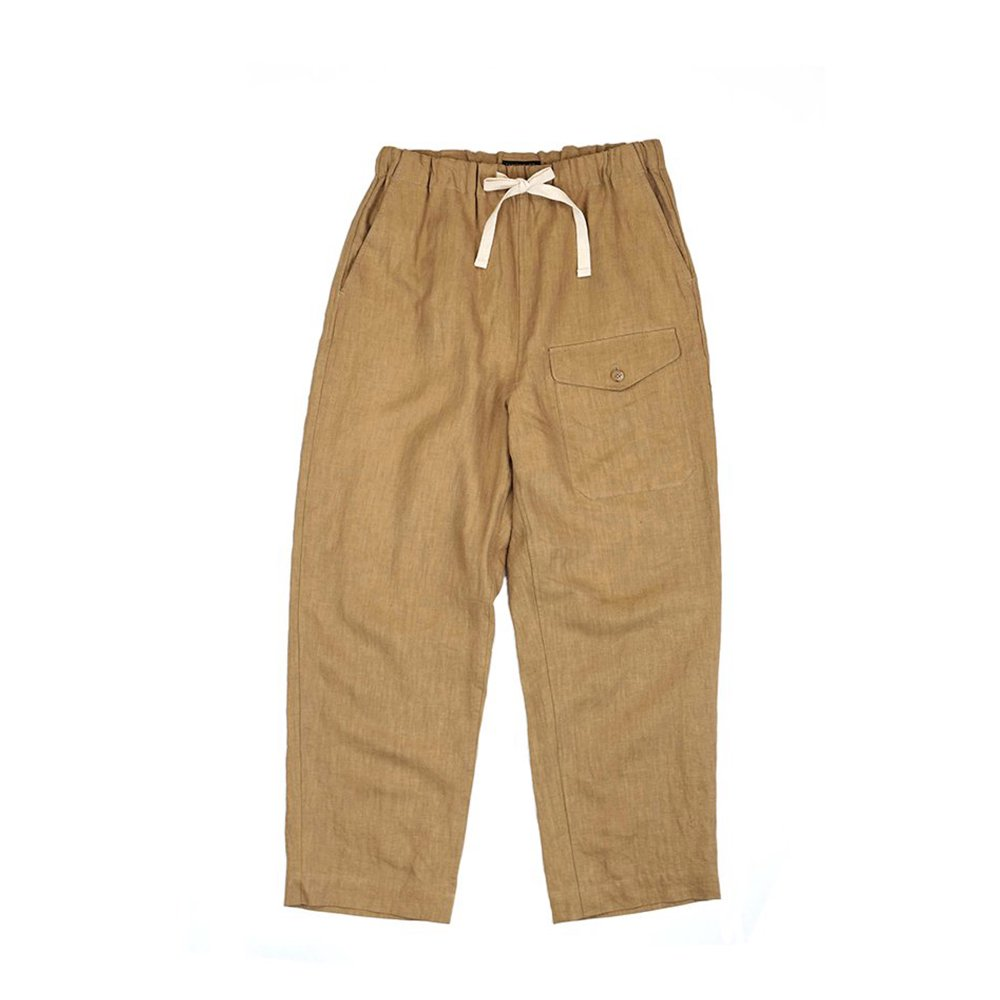 Linen British Mil. Easy Trousers