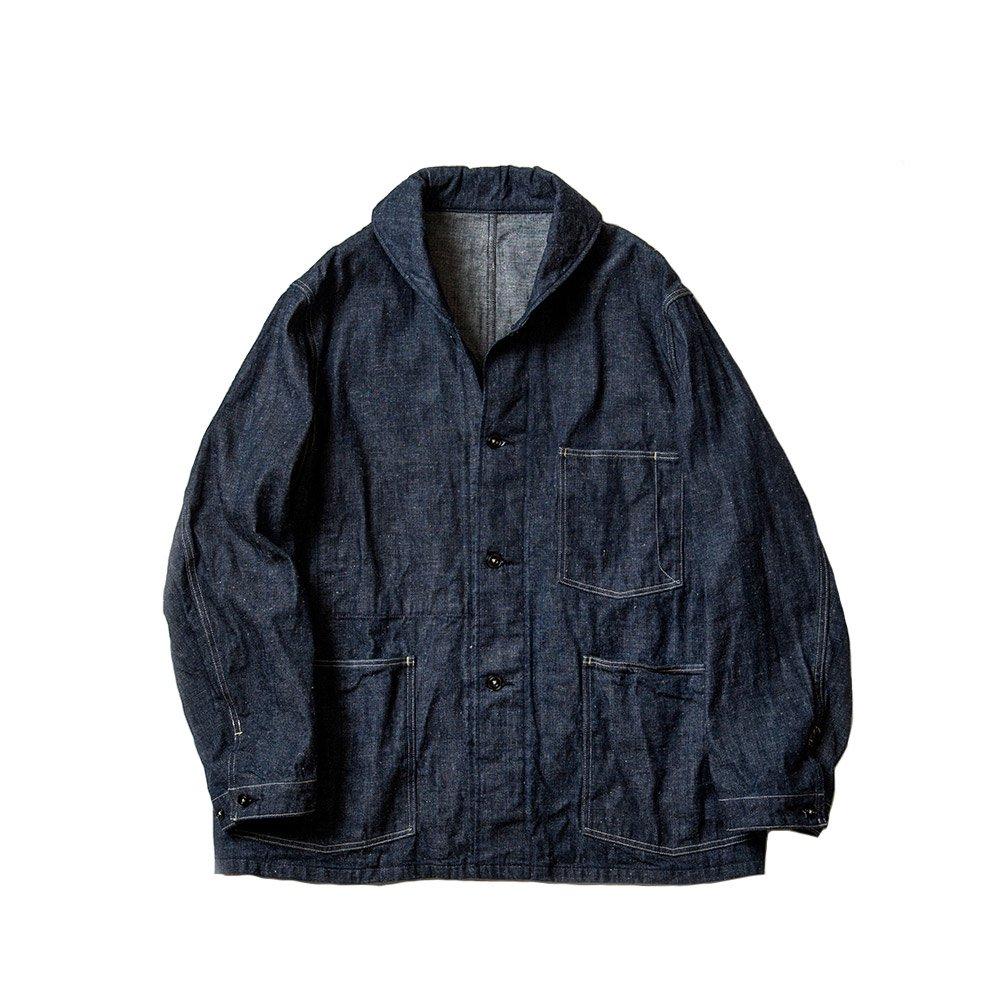 Shawl Collar Denim Jacket -11.5oz-