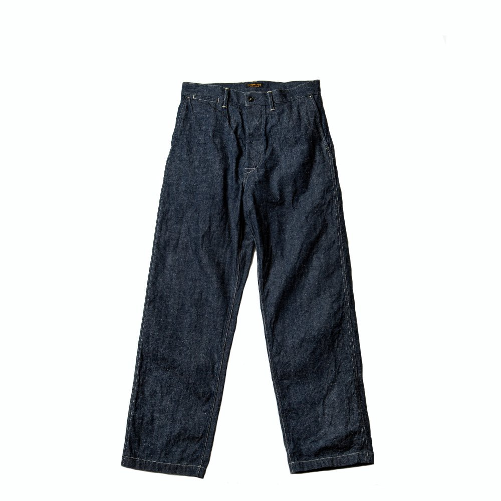<img class='new_mark_img1' src='https://img.shop-pro.jp/img/new/icons56.gif' style='border:none;display:inline;margin:0px;padding:0px;width:auto;' />Buckle Back PW Denim Trousers -11.5oz-