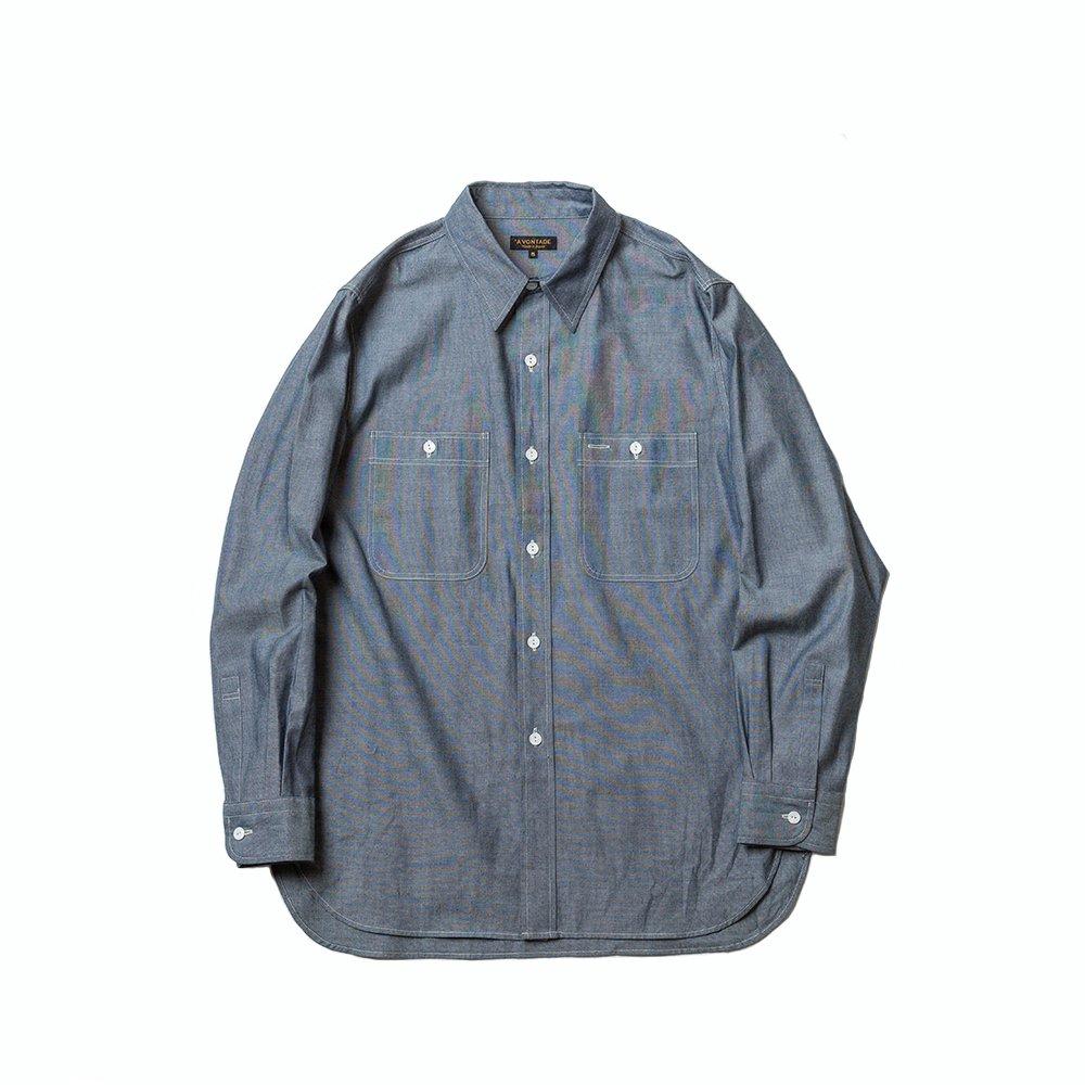 Lax Work Shirts -Indigo Chambray-