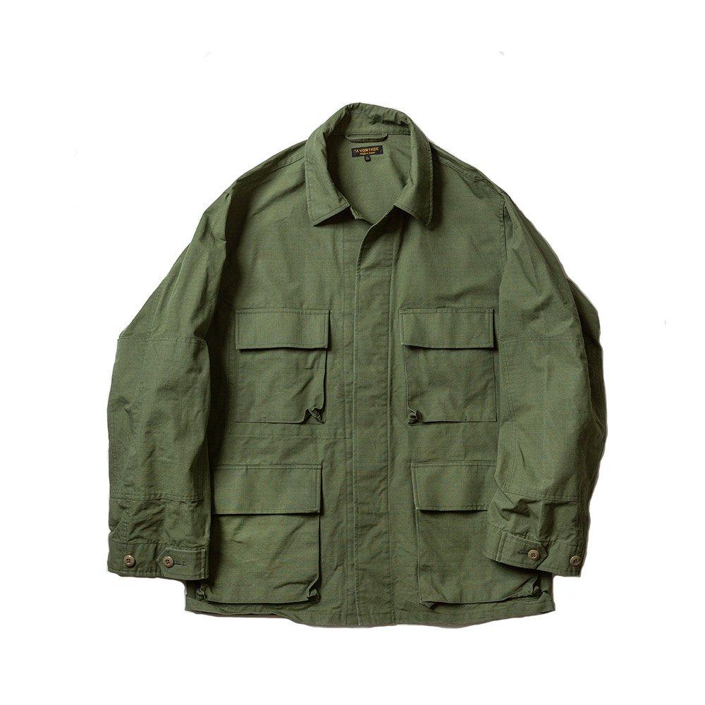 BDU Tropical Jacket -Jungle Fatigue Ripstop-
