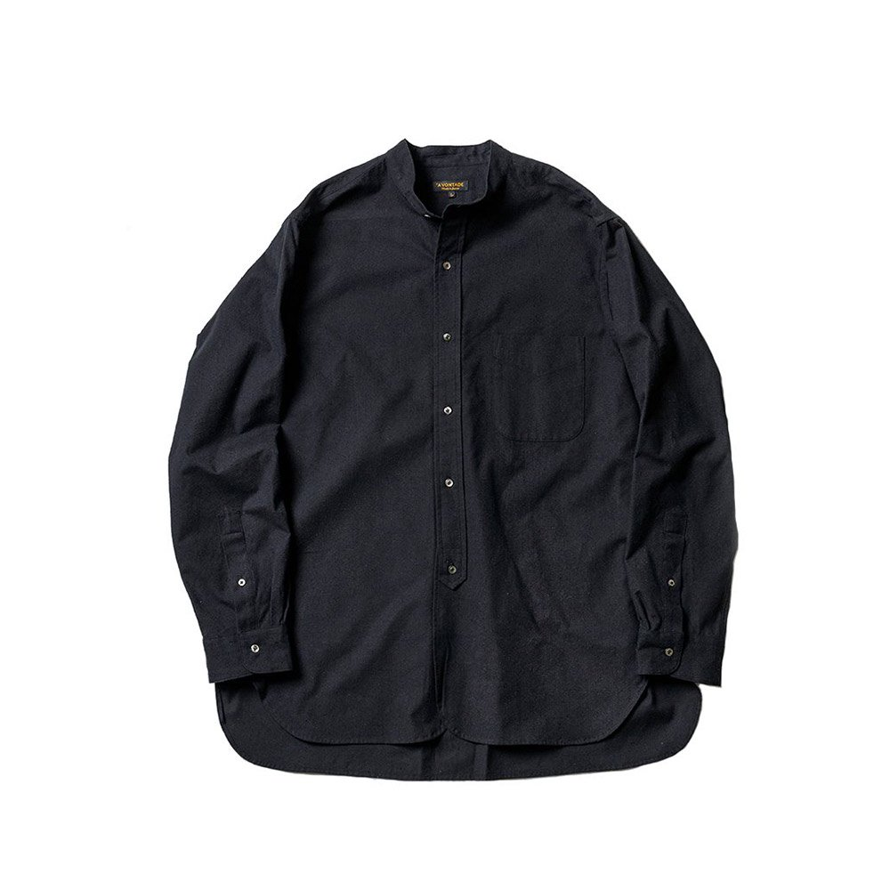 <img class='new_mark_img1' src='https://img.shop-pro.jp/img/new/icons56.gif' style='border:none;display:inline;margin:0px;padding:0px;width:auto;' />Banded Collar Shirts -Cotton/Nepped Silk Brushed Sheeting-