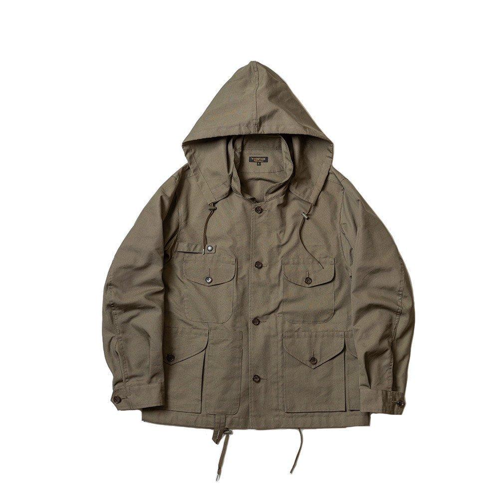 10 Pocket Fishhunt Jacket -Cotton/Nylon Highcount Oxford-