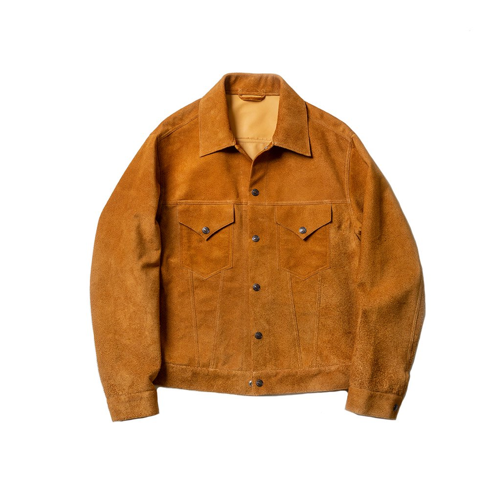 Suede Trucker Jacket