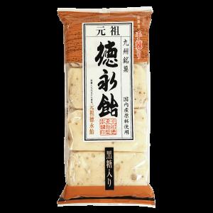 元祖徳永飴総本舗 徳永飴(黒糖入り) 8枚