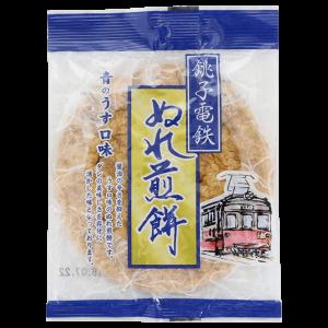銚子電気鉄道 銚子ぬれ煎餅 青の薄口