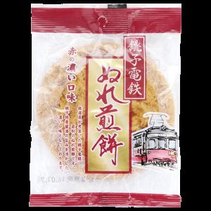 銚子電気鉄道 銚子ぬれ煎餅 赤の濃口