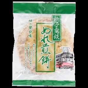 銚子電気鉄道 銚子ぬれ煎餅 緑の甘口