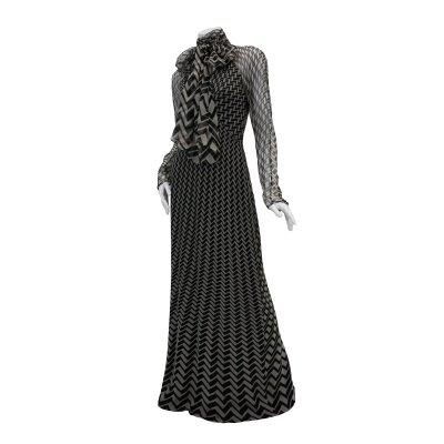 GUCCI グッチ ジグザグドレス 009-165210-8402